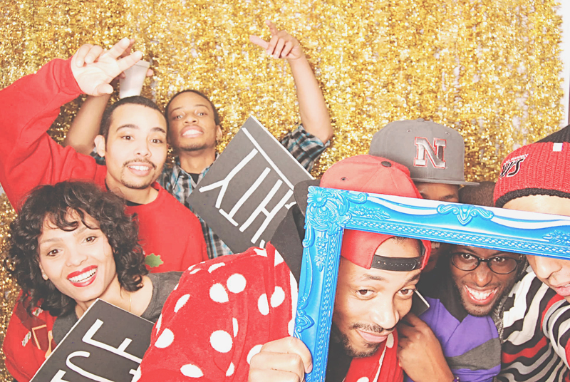 12-15-13 - Patchwerk Studios Atlanta, GA - Patchwerk Studios' 2013 Holiday Party Photo Booth  LaToya Brown (1253)