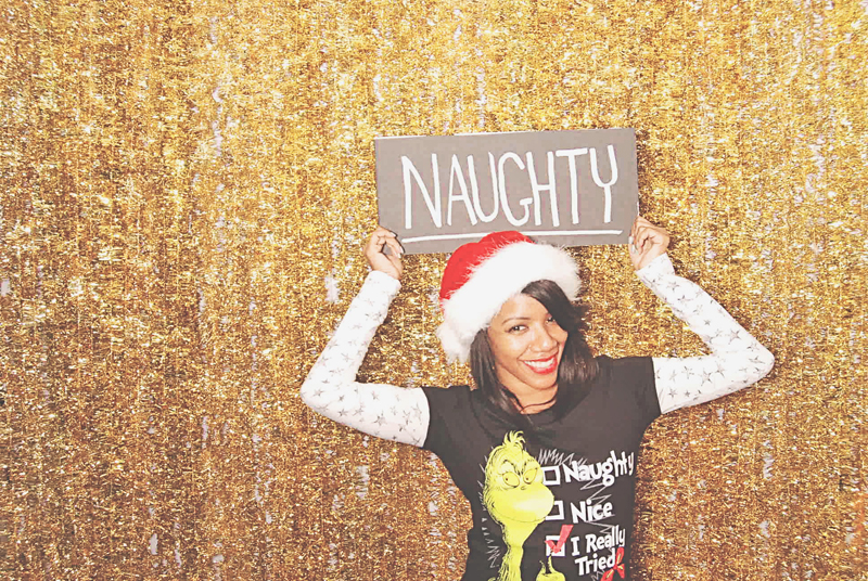 12-15-13 - Patchwerk Studios Atlanta, GA - Patchwerk Studios' 2013 Holiday Party Photo Booth  LaToya Brown (432)