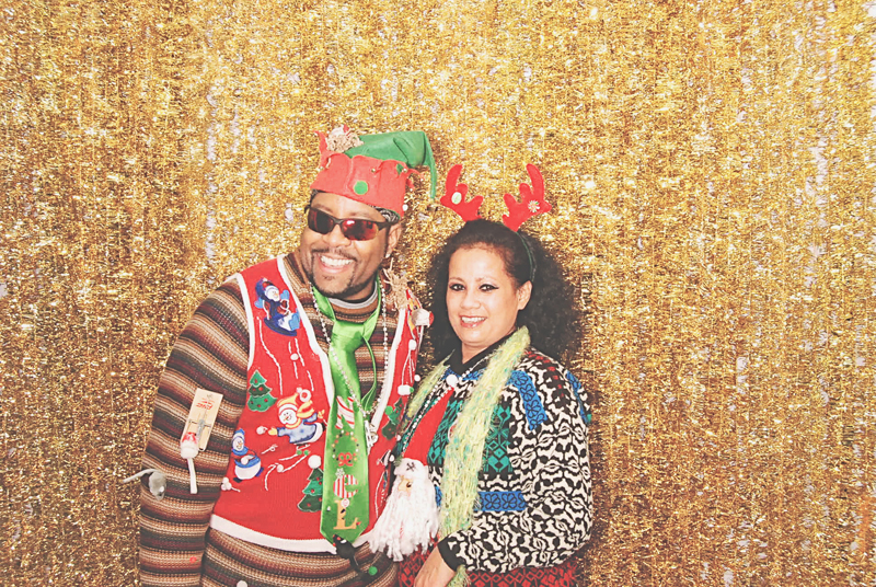 12-15-13 - Patchwerk Studios Atlanta, GA - Patchwerk Studios' 2013 Holiday Party Photo Booth  LaToya Brown (606)