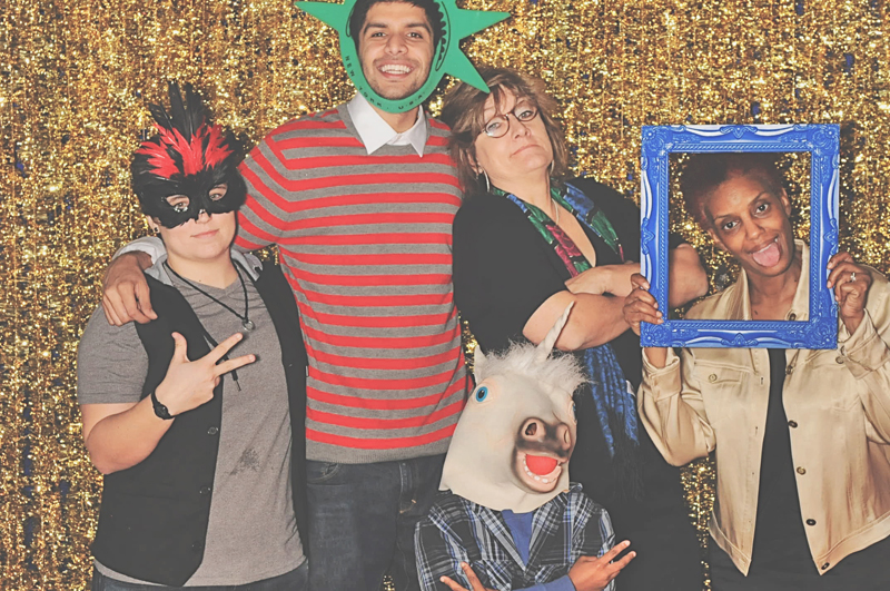 12-21-13 - Magnolia Hall, Peidmont Park - TowerPoint's Holiday Party 2013 Photo Booth - Robot Booth (141)