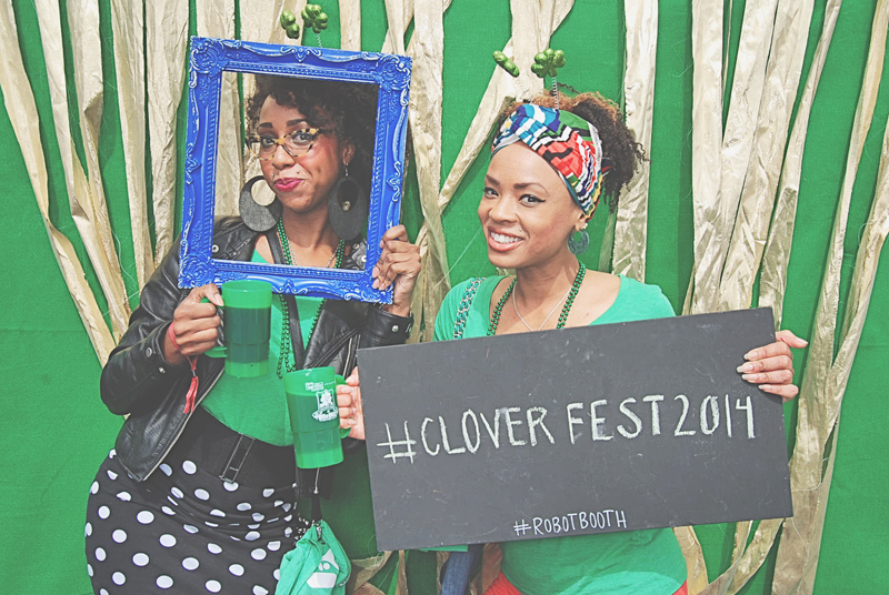 Atlanta RedBrick Brewing Cloverfest 2014 RobotBooth02