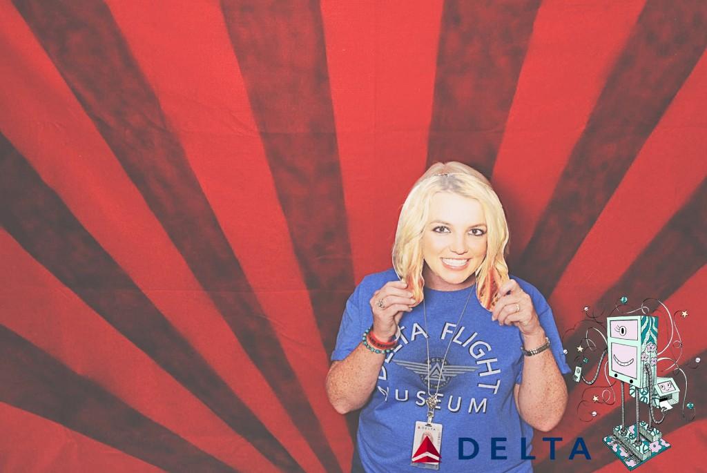 7-10-14 Atlanta Delta  Air Lines Reservations Building - CARE REFUNDS #1 DOT Celebration - RobotBooth07