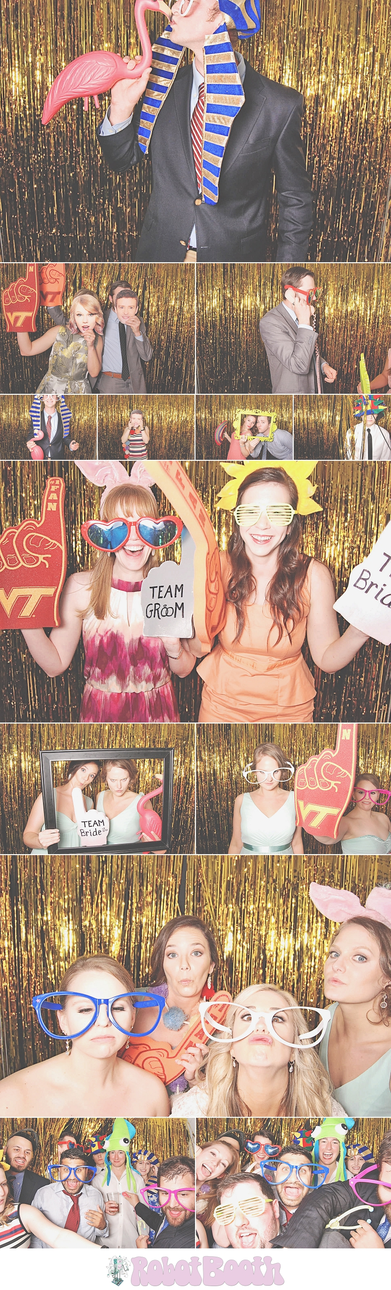 Atlanta Park Tavern PhotoBooth - Chrissy & Jonathan's Wedding - RobotBooth 1