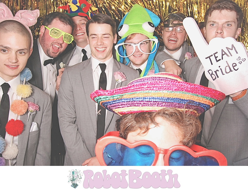 Atlanta Park Tavern PhotoBooth - Chrissy & Jonathan's Wedding - RobotBooth 2