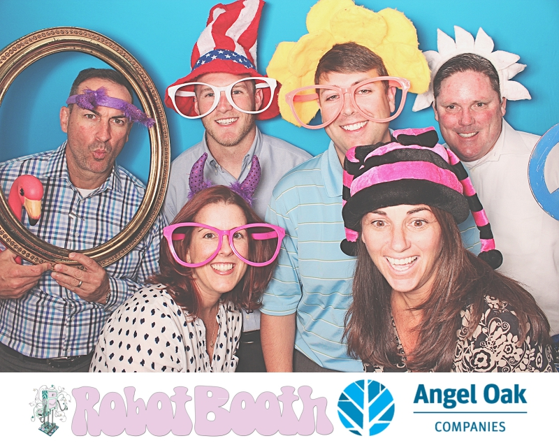 Atlanta PhotoBooth - Angel Oak Companies Employee Appreciation Week - RobotBooth 1