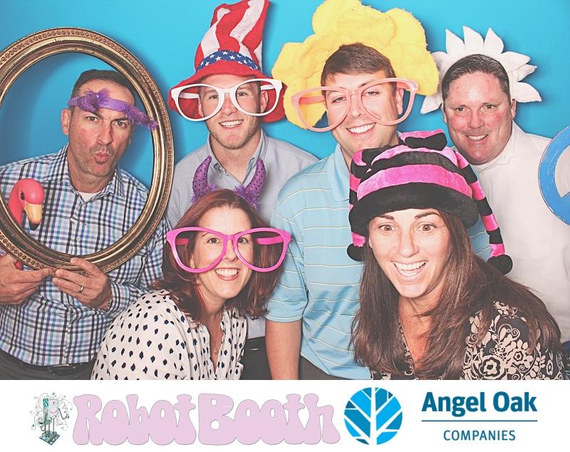 Atlanta PhotoBooth - Angel Oak Companies Employee Appreciation Week - RobotBooth 1