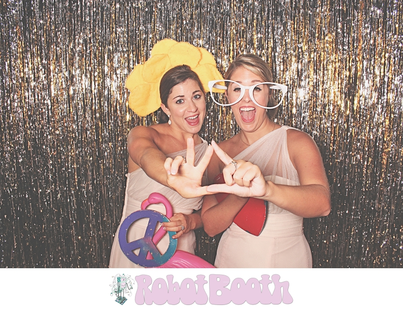 Atlanta Roswell Historic Cottage PhotoBooth - Chelsea and Reese's Wedding - RobotBooth 1