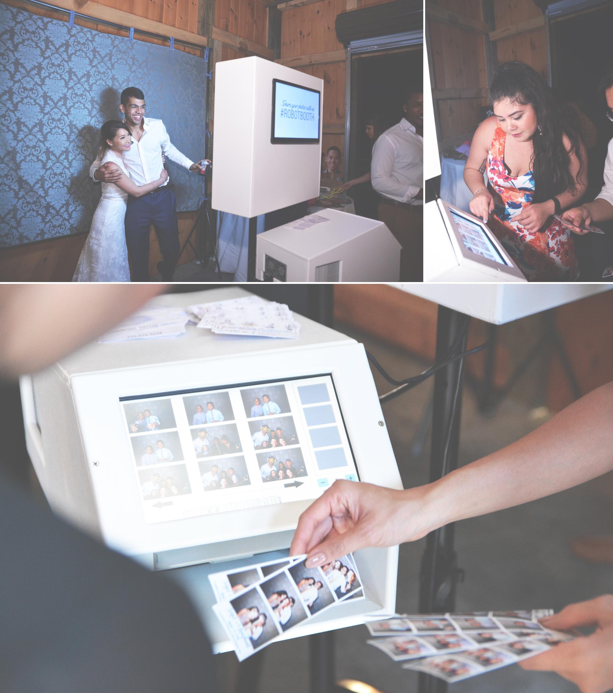Wedding PhotoBooth - The Wright Farm - RobotBooth 6