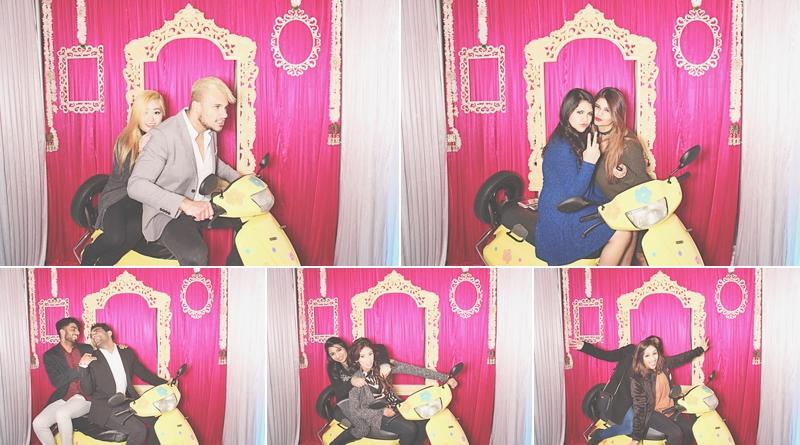 Atlanta Crimson Bleu Events Photo Booth - South Asian Bridal Show - Robot Booth 4