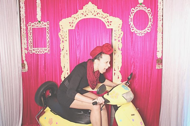 Atlanta Crimson Bleu Events Photo Booth - South Asian Bridal Show - Robot Booth 5