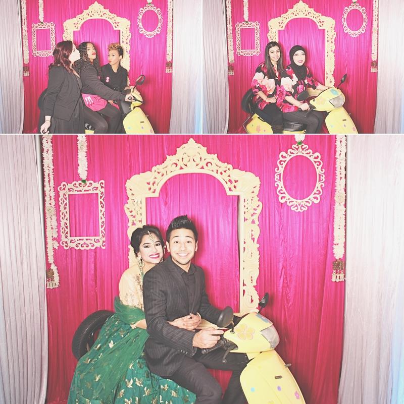 Atlanta Crimson Bleu Events Photo Booth - South Asian Bridal Show - Robot Booth 6