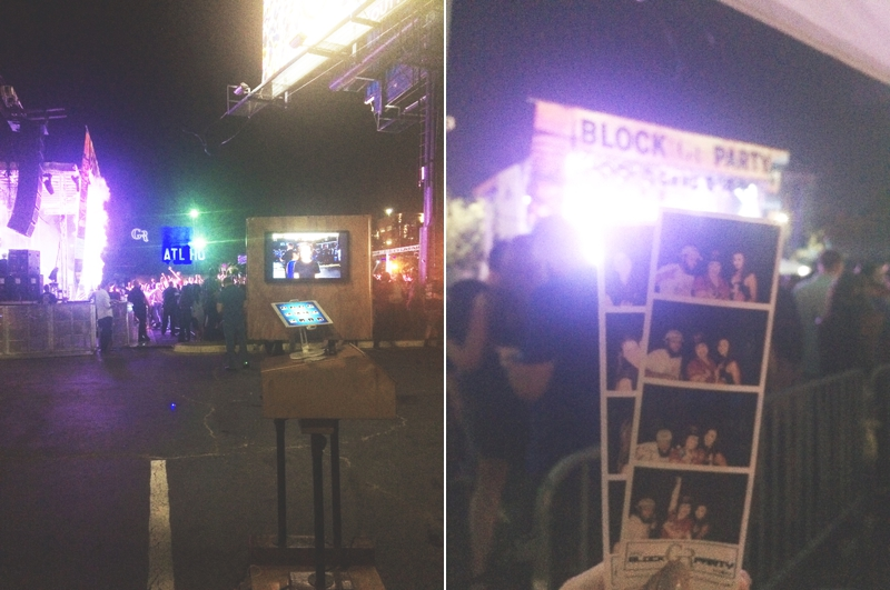 Gold Room Block Party With Diplo - Atlanta Photo Booth Rental - Robot Booth 3